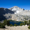 Upper Trail Lake and the Mono Divide