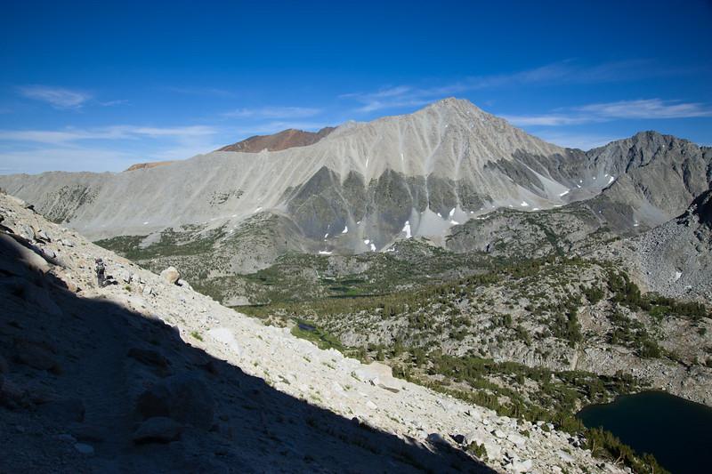 Mt. Morgan and the whole Rock Creek basin