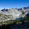 Ruby Lake, Mt. Abbot, Mt. Dade and several others