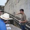 Justin explains the architectural plan-Imani Joseph