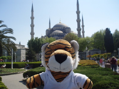 PJ at The Blue Mosque -Imani Joseph