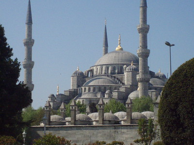 The Blue Mosque -Imani Joseph