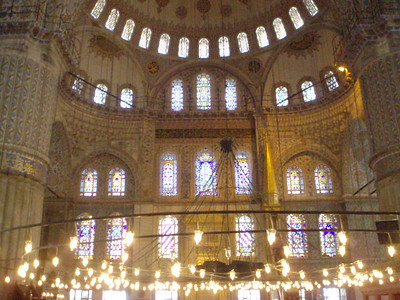Inside the Blue Mosque-Imani Joseph