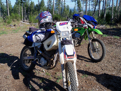 Two Dual Sport Rides