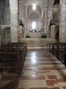 Nave and presbytery in San Silvestro (deconsecrated), Bevagna, Umbria. Natural light.