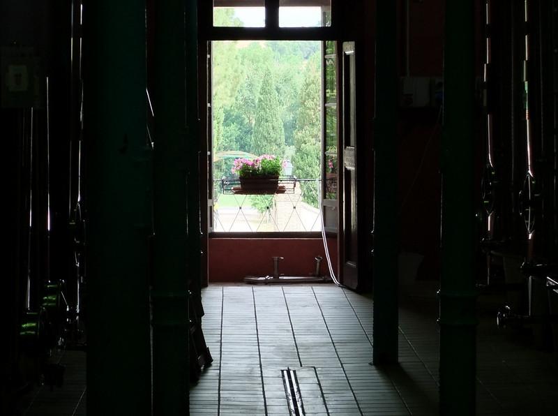 Inside the Scacciadiavoli winery, Montefalco, Umbria.