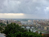 Firenze from Piazzale Michelangelo as a violent thundershower begins to dominate the city.