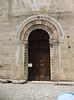 Entry door to San Michele Arcangelo, Bevagna, Umbria.