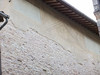 Remainder of fresco on streetside wall, Via Giulia, Spello.