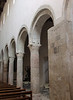 Odd capitals of (recycled?) pillars in nave of San Michele Arcangelo, Bevagna, Umbria