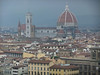 The Duomo in Firenze, Brunelleschi's great masonry dome (actually, a masonry dome within a masonry dome) on the right.