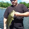 Danny fishing.