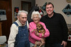 Mark with his grandparents- on her 88th birthday