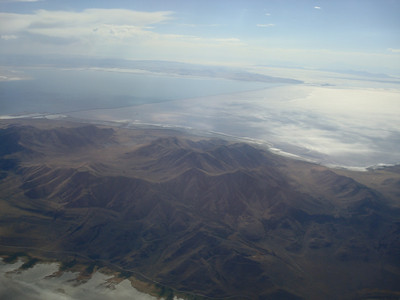 Northern end of the Great Salt Lake