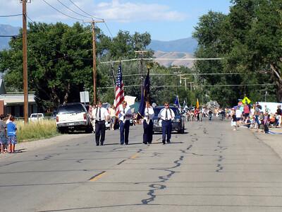 Highland Fling parade