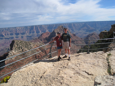 Cape Royal, Grand Canyon, Lois, Don