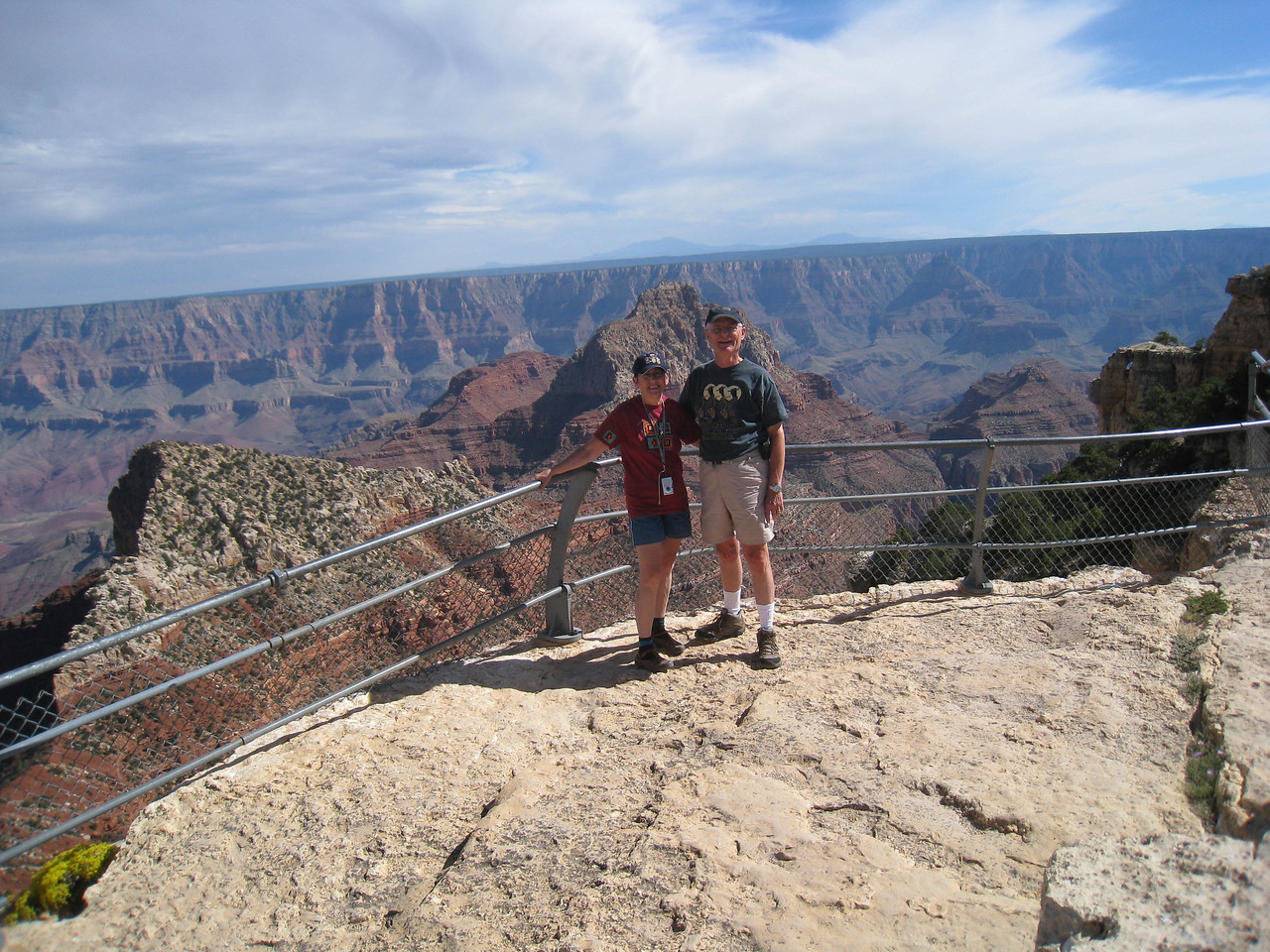Cape Royal, Grand Canyon, Lois, Don