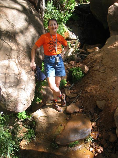 Emerald Pools Trail, Zion, Lois