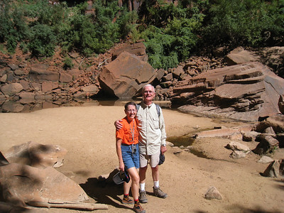 Middle Emerald Pool, Zion, Lois, Don