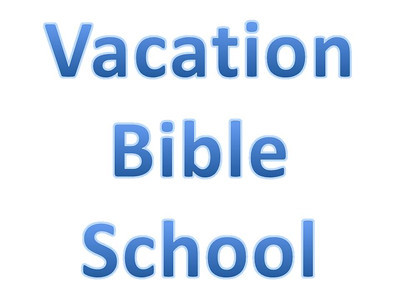 Vacation Bible School - Day 1-5