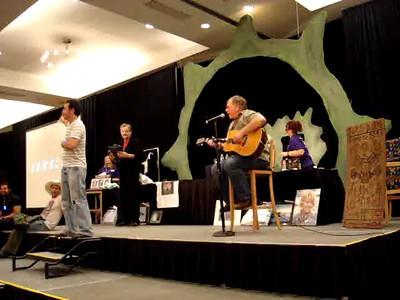 Auction - Garry Chalk singing