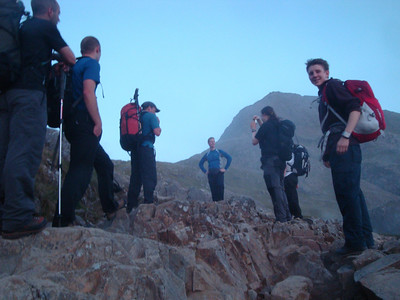3 Approach to Crib Goch