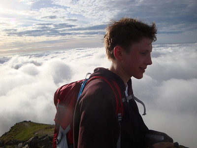 50 Snowdon summit Andrew T