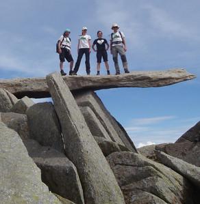 Balancing atop the Cantilever