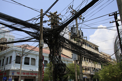 Anyone know a good electrician in Saigon?