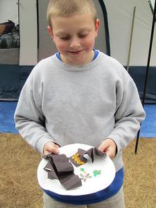 Tidepool craft created after Jr. Ranger program on tidepools