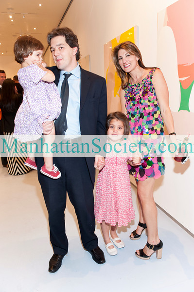 NEW YORK-MAY 19: Alistair Clarke, Blair Voltz-Clarke and family attend   LICKING OUT OF THE SAME BOWL: Natasha Law & Lucy Soni Exhibition Opening Reception Presented by Voltz Clarke on Wednesday, May 19, 2010 at Diane von Furstenberg Gallery, 440 West 14th Street, New York, New York (PHOTO CREDIT: ©Manhattan Society.com 2010 by Chris London)