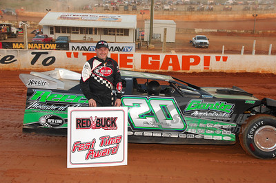 Jimmy Owens won the Red Buck Cigars Fast Time Award