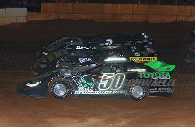 50 Shanon Buckingham, 17m Dale McDowell and 0 Scott Bloomquist