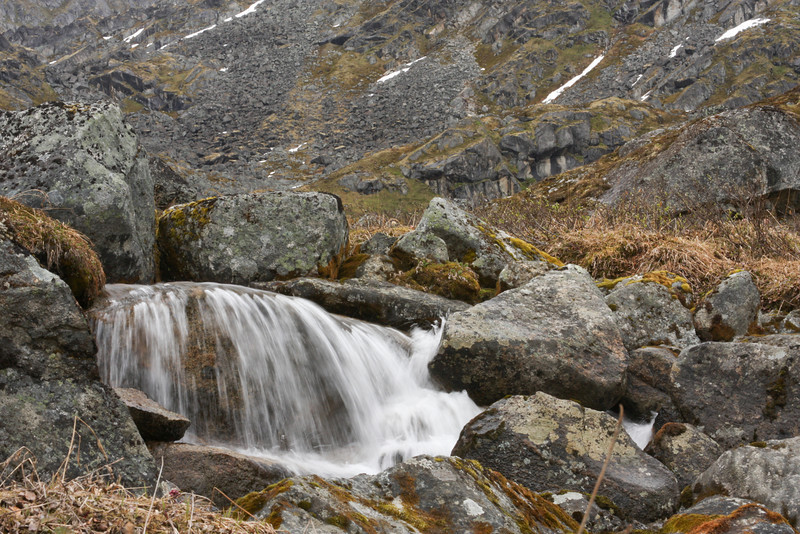 A small waterfall in Lane Valley.