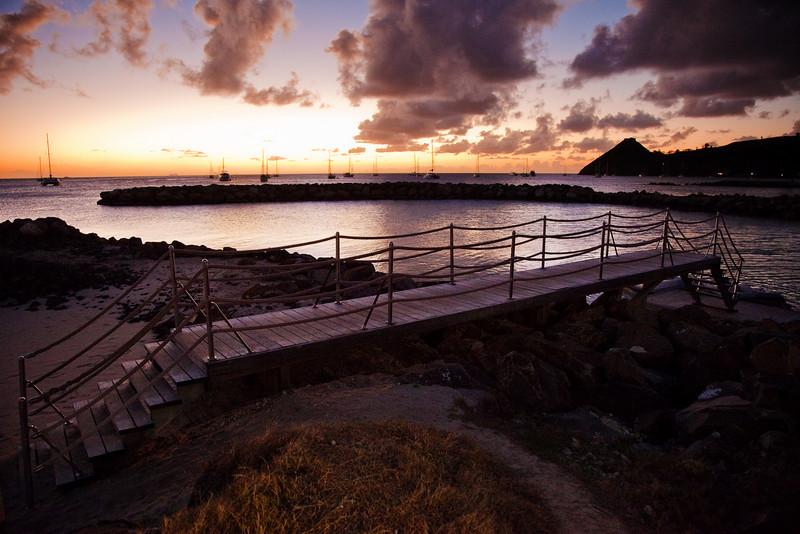 bridge sunset landings st lucia 3