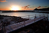bridge sunset landings st lucia 1