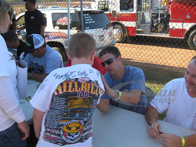 Autograph Sessions @ West Virginia Motor Speedway