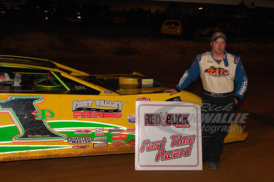 Ronnie DeHaven, Jr. won the Red Buck Cigars Fast Time Award