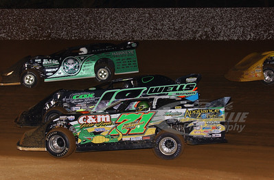 Chris Wall, Eric Wells, Scott Bloomquist