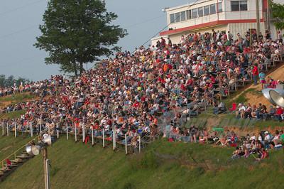 A packed house @ Wythe Raceway