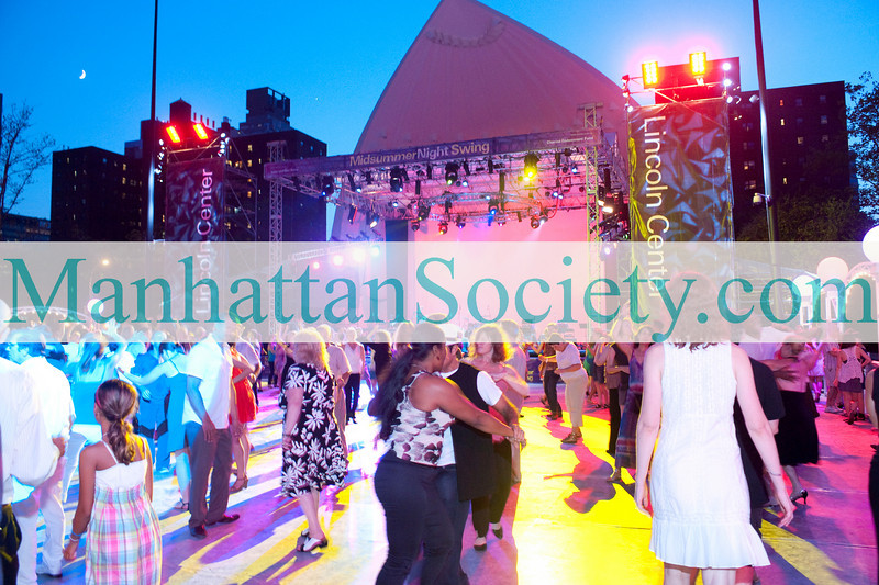 NEW YORK-JULY 15: Young Patrons of Lincoln Center (YPLC) BOOGIE NIGHTS! AT MIDSUMMER NIGHT SWING on Thursday, July 15, 2010 at  Damrosch Park, Amsterdam Avenue & West 62nd Street, Lincoln Center, New York City (PHOTO CREDIT: ©Manhattan Society.com 2010 by Christopher London)