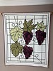 "Sandy Underwood designed this duplicate of  a quilt made by her a few years ago but she  enlarged it and used different leaves.  It is 54""  x 42"" and is machine quilted by Kerri  Missamore."