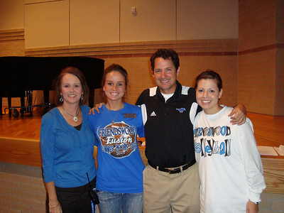 Friendswood Junior High staff who have committed to serve as CLEAR sponsors indlude (left to right): Germaine Sonnier, Beth Pavelka, Corey Dalton and Christina Holt.