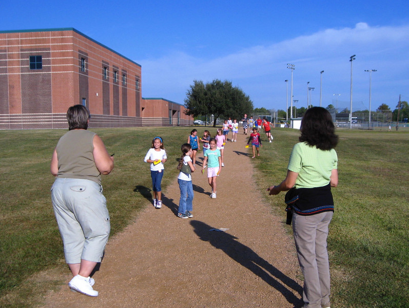 "Tuesday:  wear walking shoes – ""Character keeps us on track"""