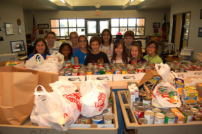 """Have a hunger for leading a DRUG FREE life.""  Bring a nonperishable food item to donate to a local food shelter."