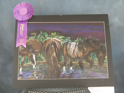 Houston Livestock and Rodeo Show School Art Competition