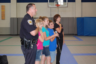 Fifth Gaders Graduate from the DARE program