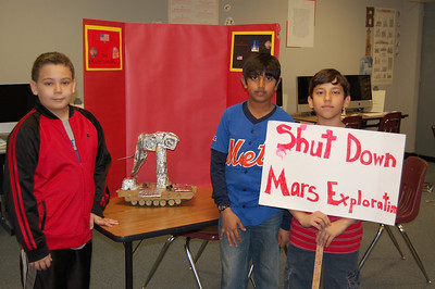 Mars Rover Celebration