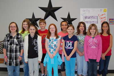 Congratulations to the Stallion Super Citizens for the month of February.  These students were chosen by their peers and teachers for showing the character trait of Trustworthiness!  Fourth Grade: Chloe Mayfield, EmmaLee Davis, Kaitlyn Smith, Macie Robertson, Alyson Kuhrt, Jazmine Gerami, Madelyn Franzino, Claire Clauson, Brady Sokora, Dylan Matter, Ayden Smith