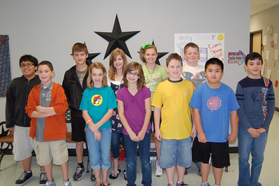 Congratulations to the Stallion Super Citizens for the month of February.  These students were chosen by their peers and teachers for showing the character trait of Trustworthiness!   Fifth Grade: Lauren Mims, Blake Matranga, Matt Ryan, Nicholas Swaney, Madeleine Scott, Katherine Johnson, Ethan Bui, Jake Johnstone, Stanton Morton, Ana Claire Brewster, Jake Varley